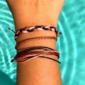 🍇🌿Handmade Adjustable Bracelet Set🌿🍇